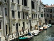 Barcos de Veneza Fotografia de Stock Royalty Free