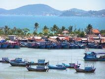 Barcos de Vientam Foto de archivo libre de regalías