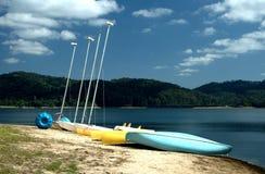 Barcos del alquiler Fotografía de archivo libre de regalías