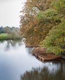 Barcos del alquiler de Dedham Imagen de archivo libre de regalías