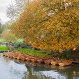 Barcos del alquiler de Dedham Foto de archivo