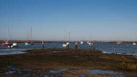 Barcos del Blackwater Imagen de archivo libre de regalías