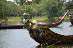 Barcos del cisne en Tailandia Fotos de archivo libres de regalías