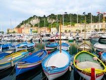 Barcos del color Fotos de archivo