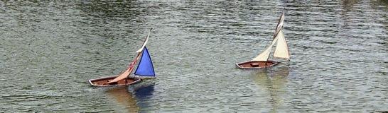 Barcos del juguete. imágenes de archivo libres de regalías