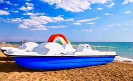 Barcos del pedal Fotos de archivo libres de regalías