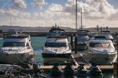 Barcos del poder Imagen de archivo