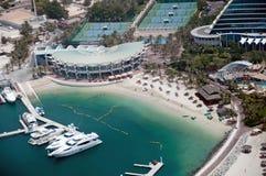 Barcos del puerto deportivo de Dubai fotos de archivo libres de regalías