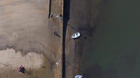 Barcos del puerto deportivo en Paraty - Rio de Janeiro - el Brasil almacen de video