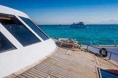 Barcos del salto en el Mar Rojo Imagen de archivo libre de regalías
