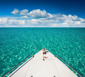 Barcos del yate Foto de archivo libre de regalías
