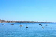 Barcos do cais Fotografia de Stock Royalty Free