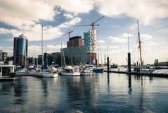 Barcos do cruzeiro de Hamburgo Imagem de Stock Royalty Free