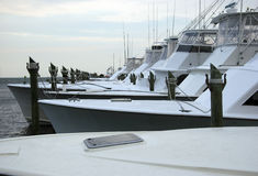 Barcos do esporte da pesca do Saltwater Imagem de Stock