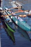 Barcos do grupo Fotografia de Stock