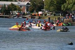 Barcos do hidroavião Imagem de Stock