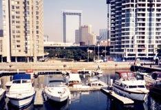Barcos 2002 do lago toronto Foto de Stock