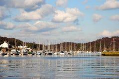 Barcos do lazer. fotografia de stock