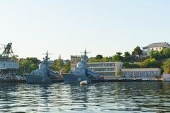 Barcos do míssil Fotos de Stock