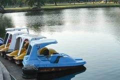 Barcos do pedal Imagens de Stock Royalty Free