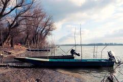 Barcos do pescador Imagens de Stock