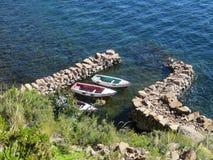 Barcos do pescador Imagem de Stock