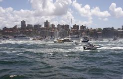 Barcos do porto Fotos de Stock Royalty Free