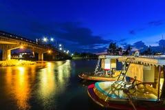 Barcos do porto Imagens de Stock Royalty Free