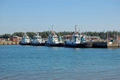 Barcos do reboque Foto de Stock Royalty Free