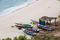Barcos do ` s dos pescadores Imagem de Stock Royalty Free