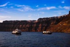 Barcos do tráfego Foto de Stock Royalty Free