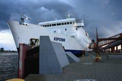Barcos e balsas fotografia de stock
