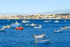 Barcos e iate Imagem de Stock Royalty Free
