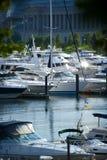 Barcos e iate Imagens de Stock Royalty Free