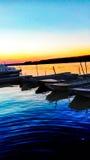 Barcos em Danúbio Imagens de Stock