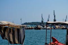 Barcos em Greece Foto de Stock Royalty Free