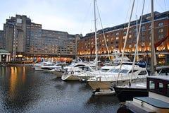 Barcos em Londres Fotografia de Stock