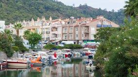 Barcos em Marmaris Fotos de Stock