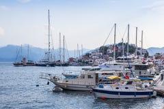 Barcos em Marmaris Fotografia de Stock Royalty Free