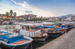Barcos em Marmaris imagens de stock royalty free