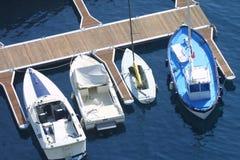 Barcos em Monaco Fotografia de Stock