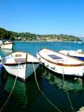 Barcos em Porto Venere fotos de stock royalty free