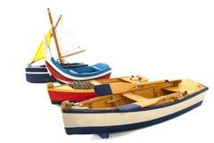 Barcos em seguido Fotografia de Stock Royalty Free