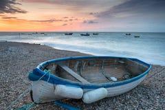 Barcos em Selsey Fotografia de Stock Royalty Free