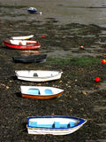 Barcos em seu descanso imagem de stock royalty free