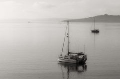 Barcos em St Mawes Imagem de Stock Royalty Free