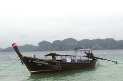 Barcos em Tailândia Fotos de Stock Royalty Free