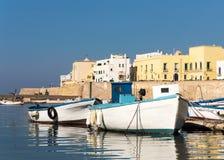 Barcos en acceso Foto de archivo