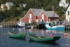 Barcos en bahía Imagenes de archivo