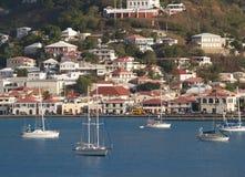 Barcos en bahía Foto de archivo
